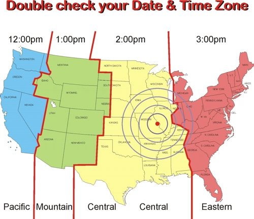 Time Zone Map Usa Printable Cities In Ohio Ohio Cities Map Us Time